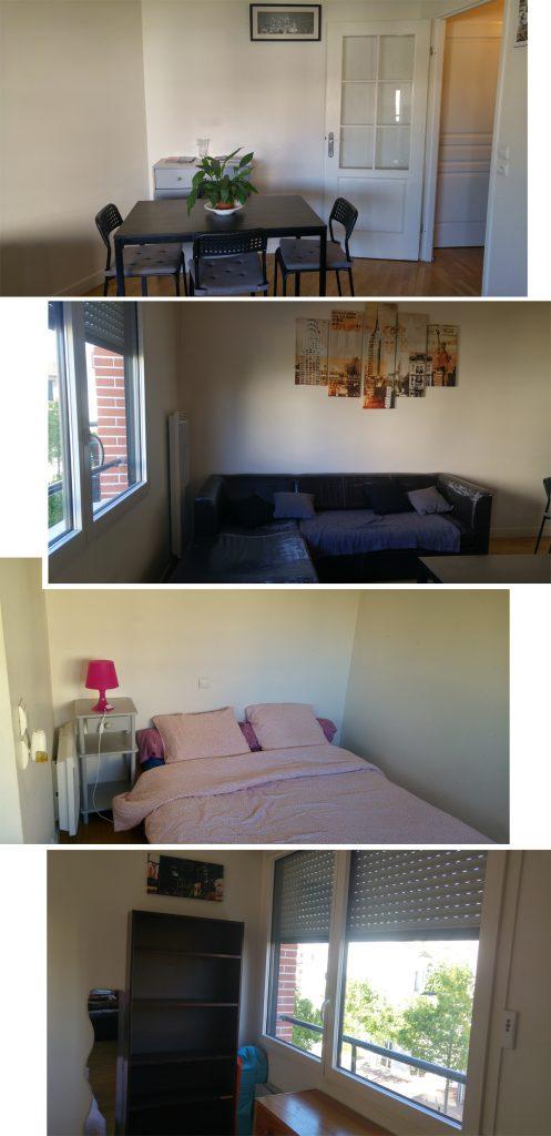 Sonia's Apartment at Boulevard Maréchal de Lattre de Tassigny Suresnes,