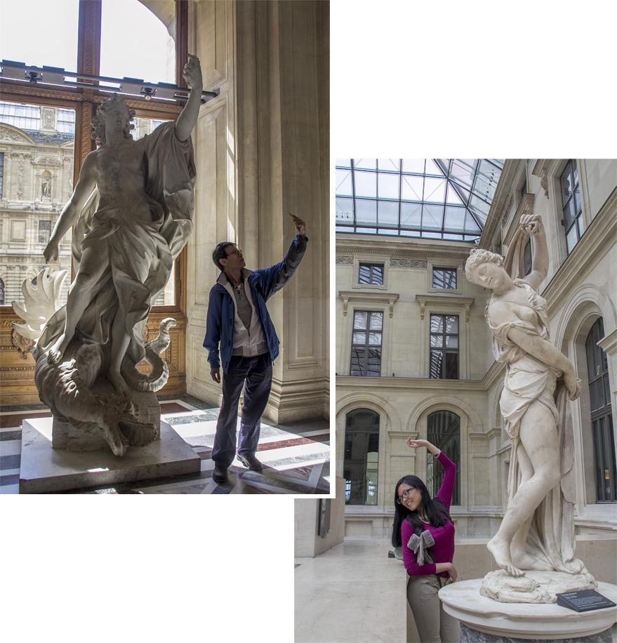 Sculpture, sculpture everywhere
