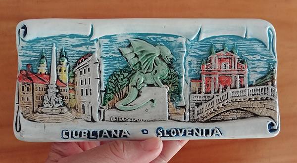 Souvenir from Ljubljana