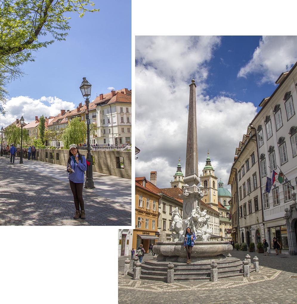 Ljubjlana Old town