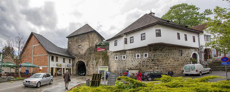 Travnik Gate of Old Jajce Town
