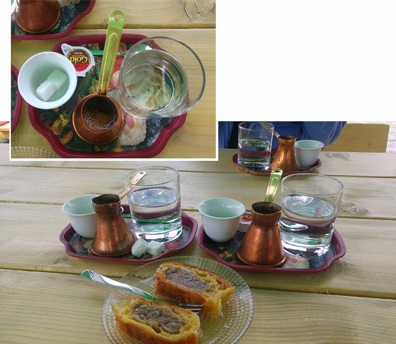 Coffee and Baklava