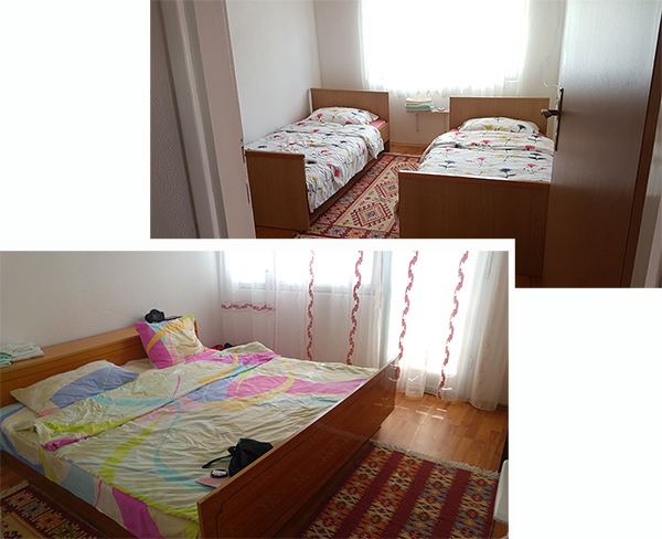Our two rooms at Apartments - Vasva & Hazim