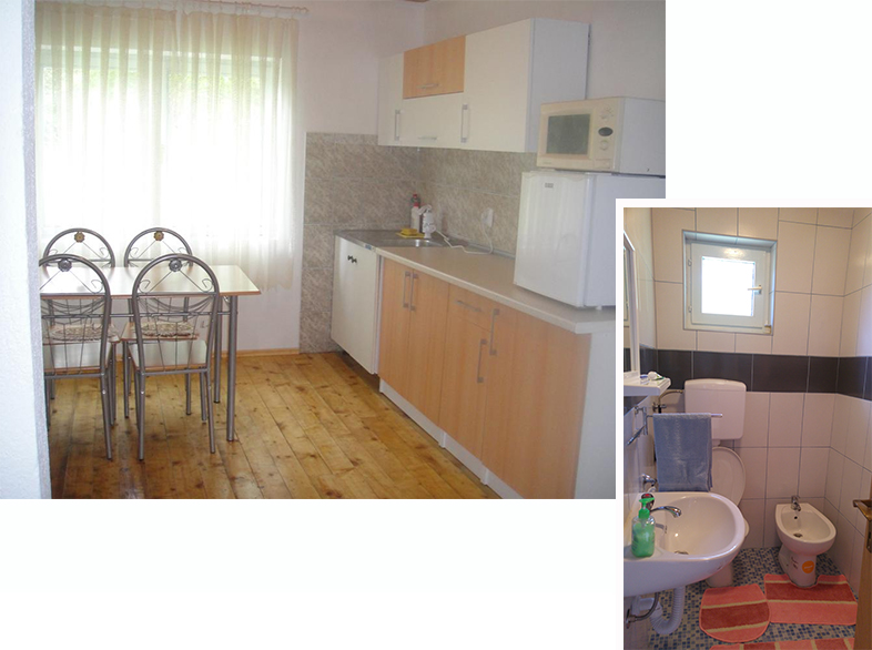 Shared Kitchen and toilet on the 2nd level