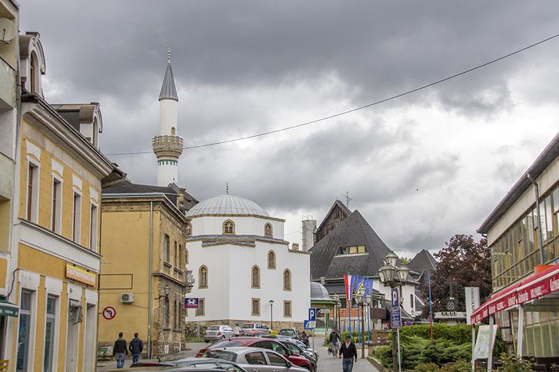 Town center of Jajce
