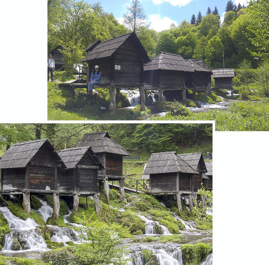 Jajce watermills