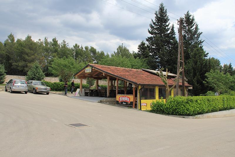 Kravica Falls carpark