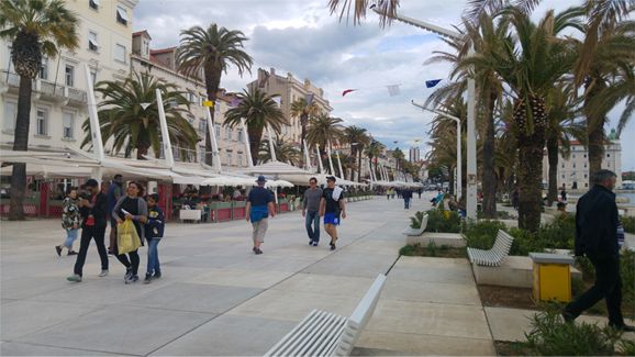 Harbour Promenade at Split