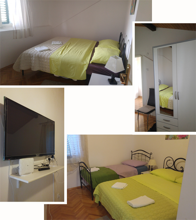 Two bedrooms at Apartment Varos