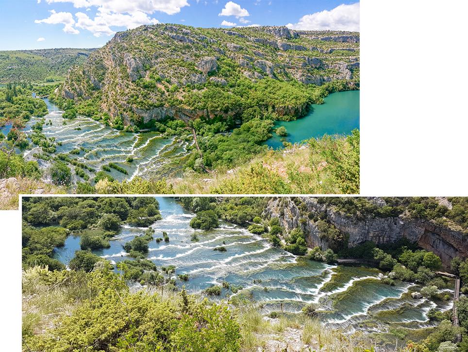 Roski Slap of Krka National Park