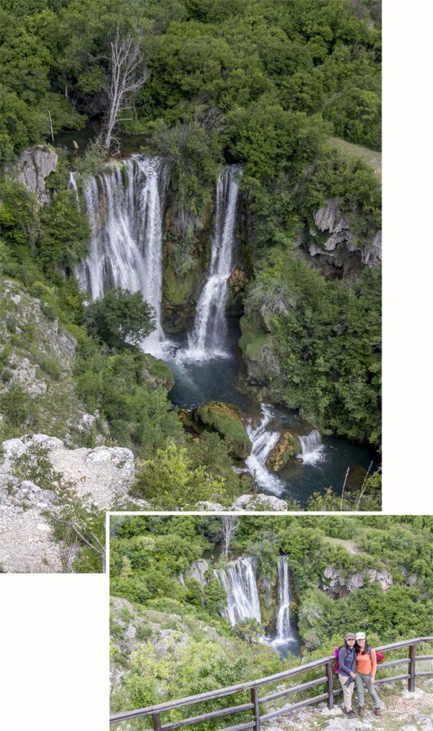 Viewing deck at Manojlovac waterfalls