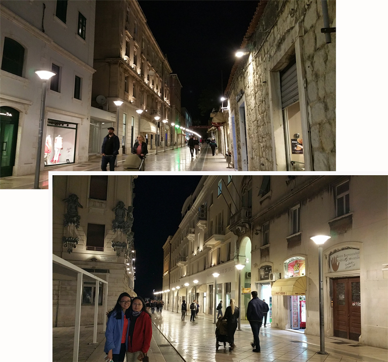 Streets of Split old town