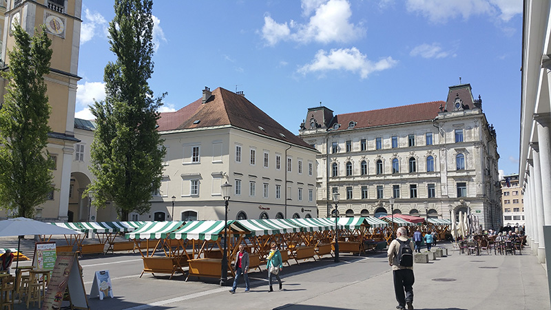 Ljubljana Central Market (open air)