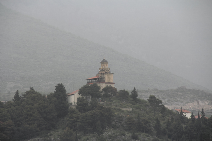 Mysterious Castle or Monastery near Trebinje