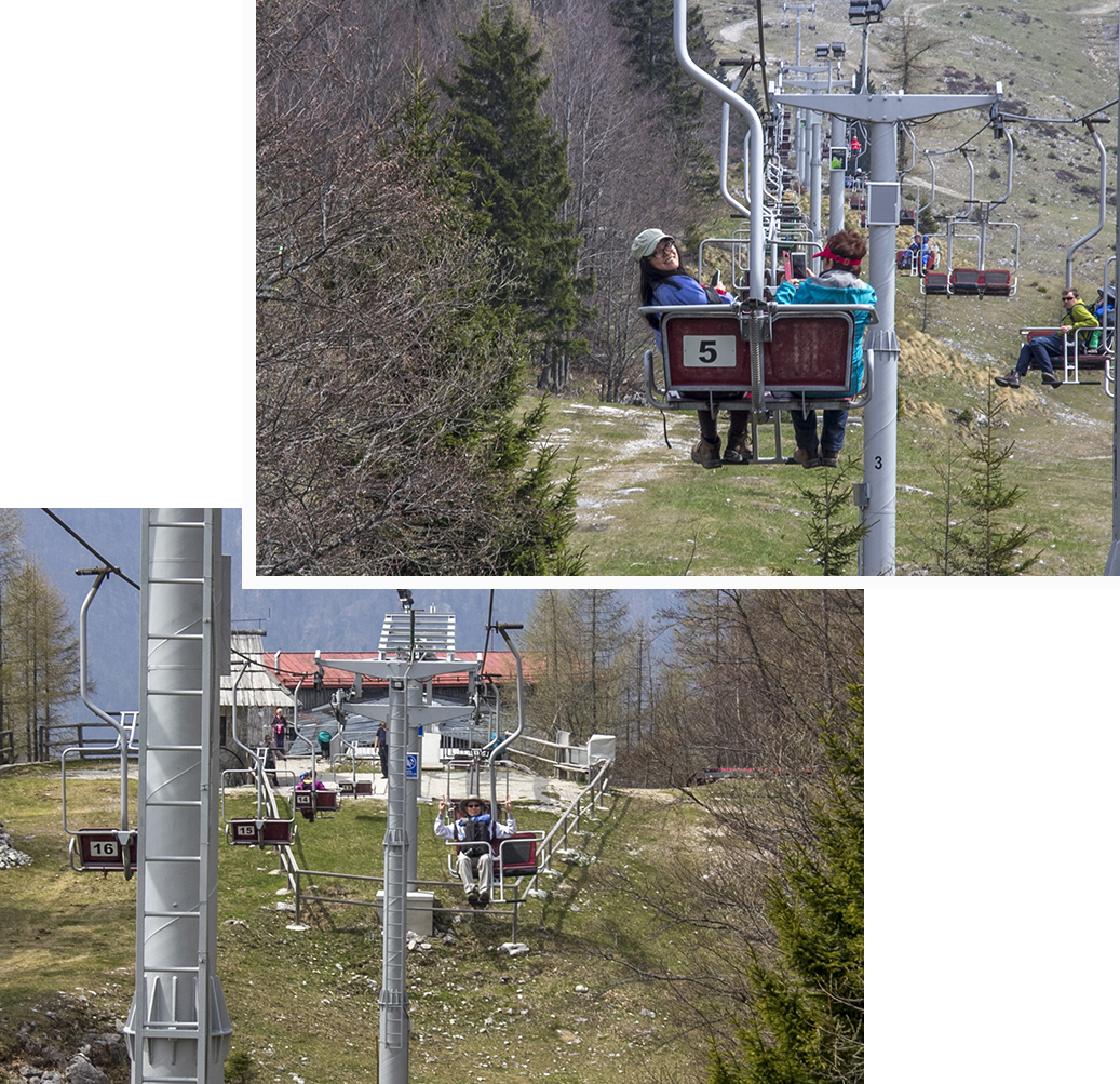 Chair Lift station 1.