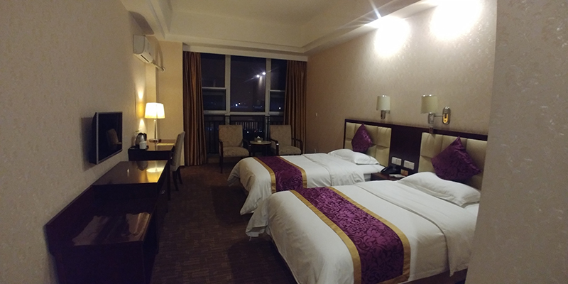 Twin Room at XiangYu Business Hotel at ChengDu