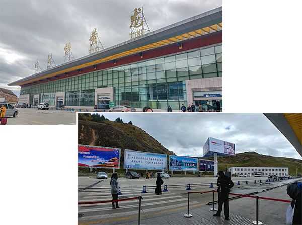 No Bus services at HuangLong-JiuZhaiGou airport!
