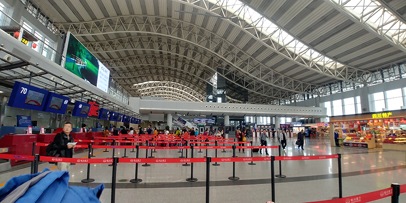 ChengDu ShuangLiu Airport - Domestic Departure