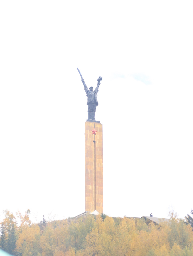 Memorial Statue of the Red Army