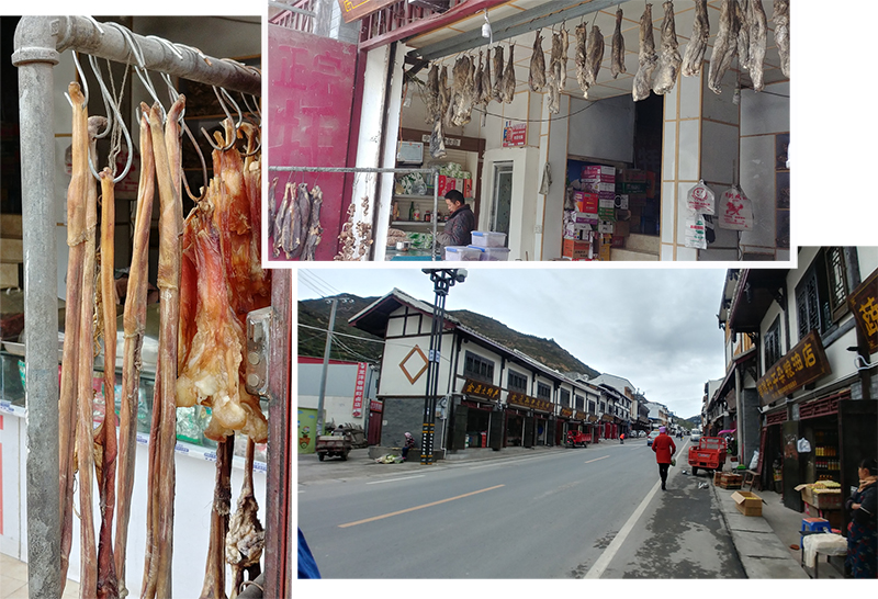 Main road of SongPan Ancient Town
