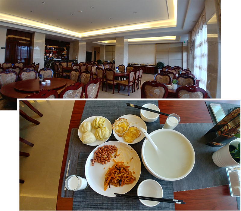 Breakfast at Tian Yi Hotel