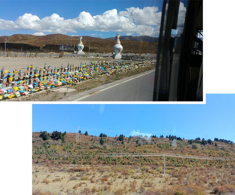 Enroute to HeiShui from HongYuan