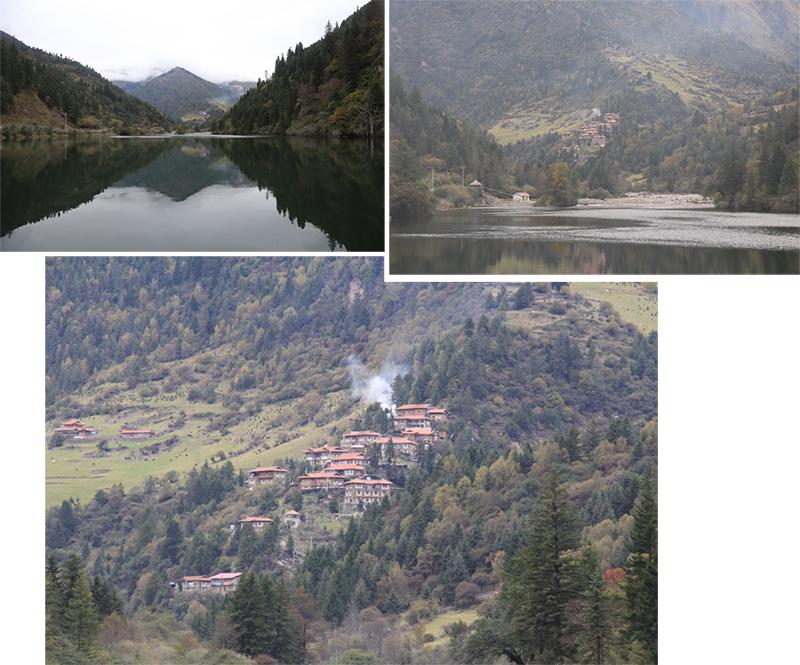 """""""Upper"""" Tibetan Village at DaGu Glacier Scenic Reserve"""