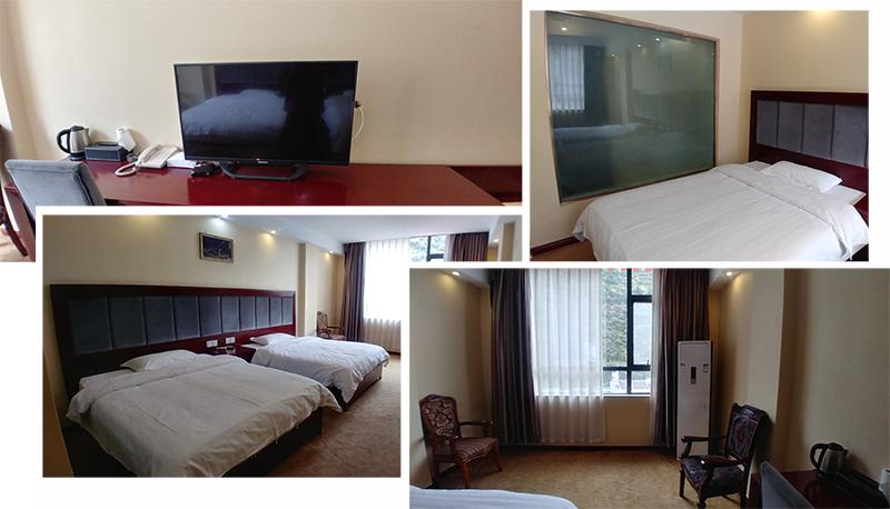 Twin Room at马尔康绒城酒店