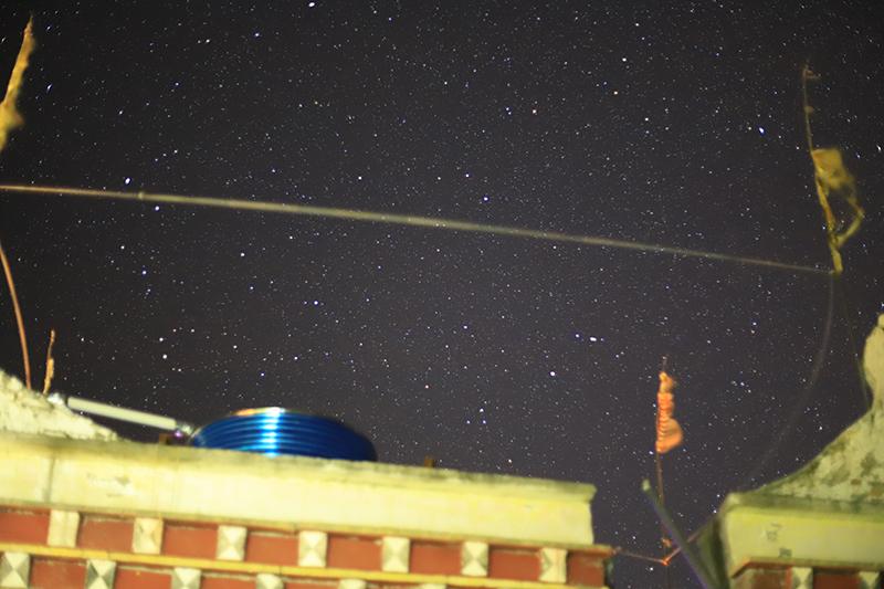 Starry Night at ZhongLu village