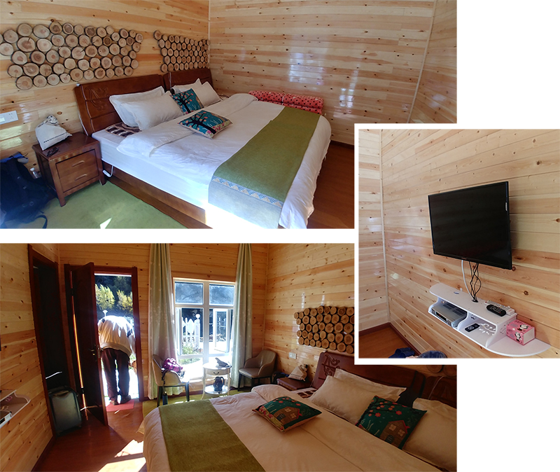 Our double room at YunXiGu GuestHouse