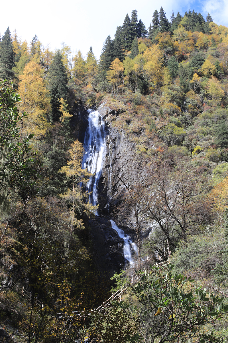 ChongChongJiao Waterfall of ChangPing Valley
