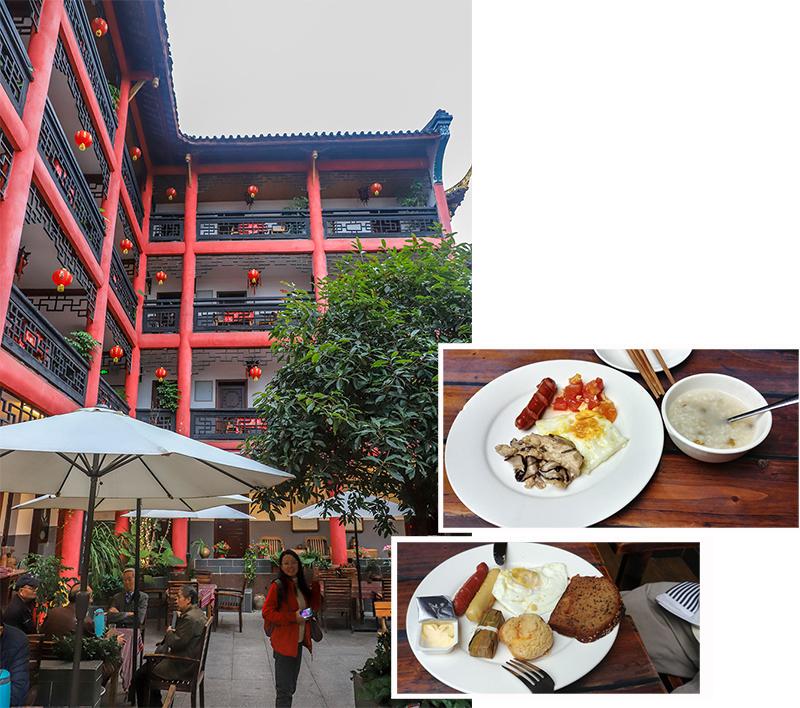 Breakfast at Hotel