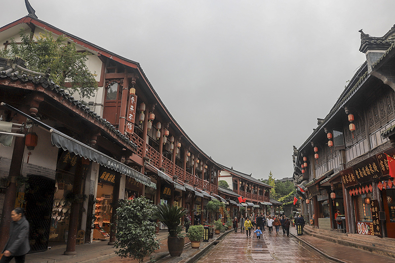 Main Street of LuoDai Ancient Town