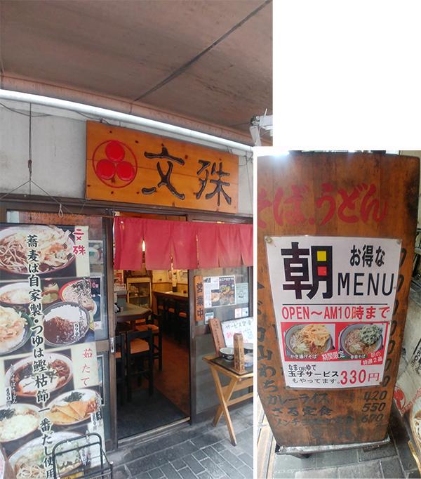Eatery under the elevated train track of Asakusabashi Station