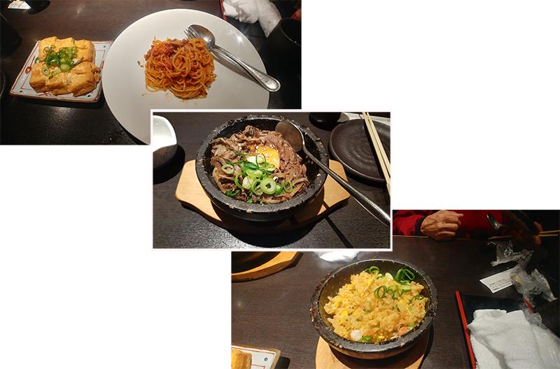 Yummy dinner at Kiya-machi Dori street of Kyoto