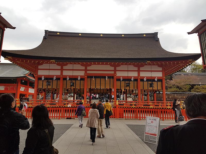Hoden of Fushimi Inari Taisha