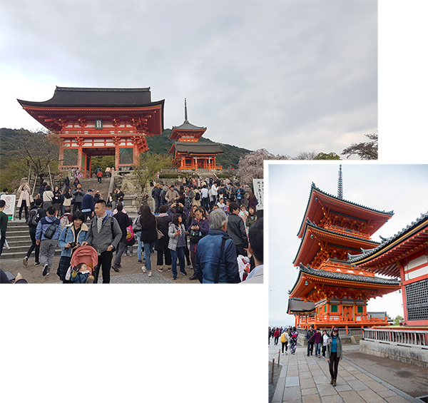 Niomon and pagoda at Kiyomizu-dera