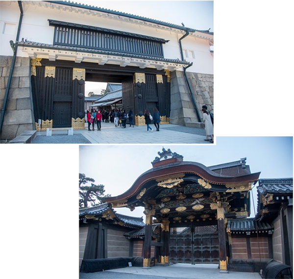 Nijo Castle front entrance