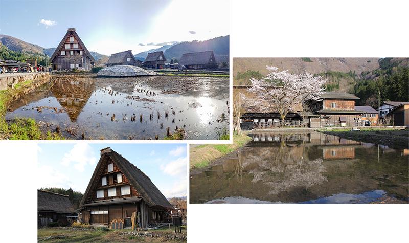 Gass-ho houses at Shirakawago