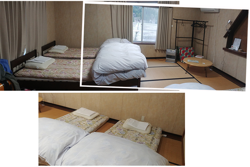 Our family room at Guest House Yamashita YA