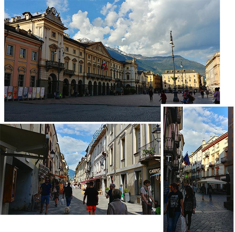 Aosta Town