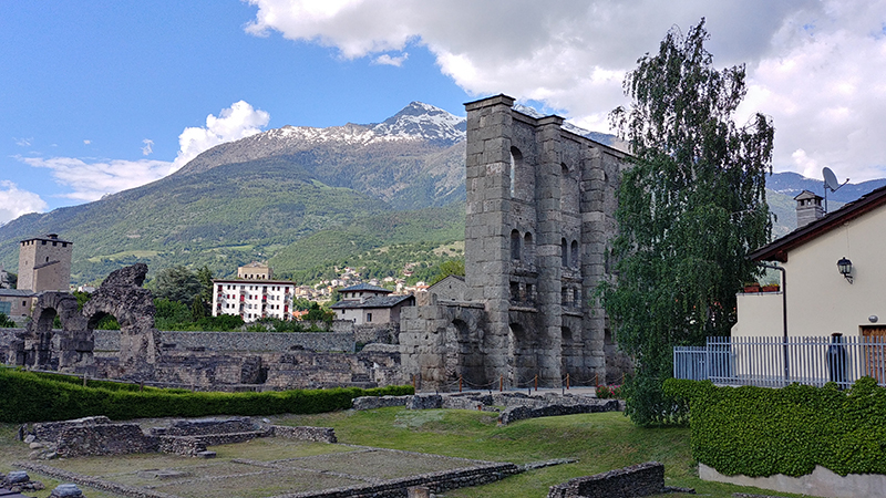 Roman Theatre Ruin of Aosta