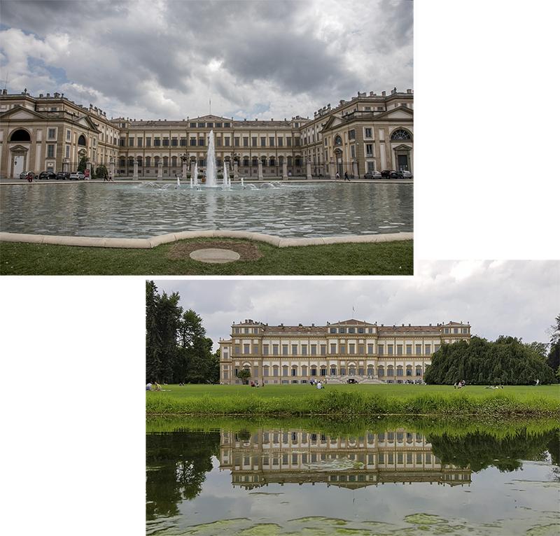 """The Palace of Monza """"Villa Reale de Monza"""""""