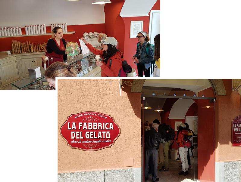 La Fabbrica Del Gelato (home made)