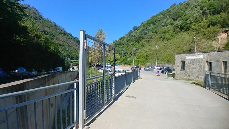 Vernazza Public Carpark (co ords: 44.138662, 9.694561)