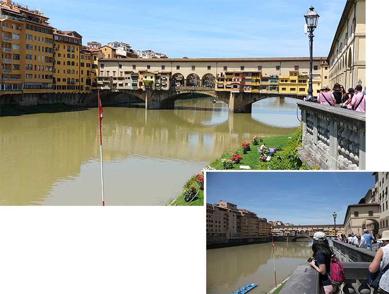 Porte Vecchio of Florence