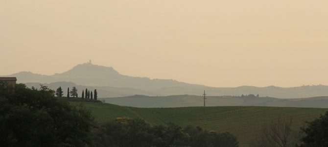 Day 11,12 & 13: Valley d'Orcia