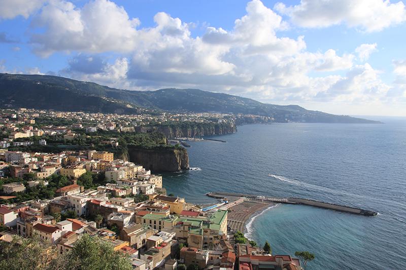 Stunning coastline of Sorrento