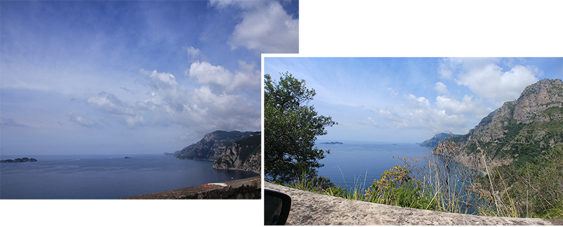 Beginning of Amalfi Coast