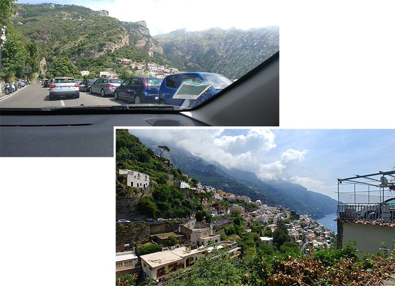 Near to Positano